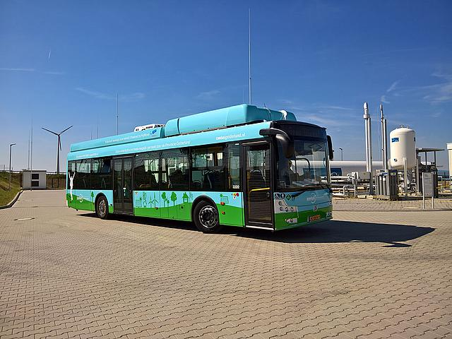 Wasserstoff-Bus in Mainz