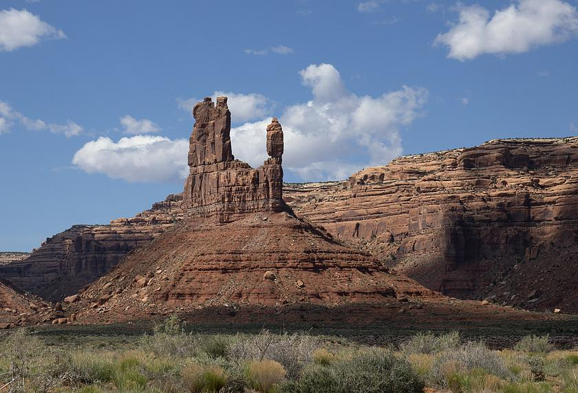 Foto: spitze Feldformation im Bears Ears National Monument