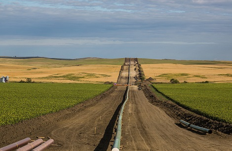 Dakota Access Pipeline bei New Salem in North Dakota. - Foto © Tony Webster / flickr.com, CC BY-SA 2.0